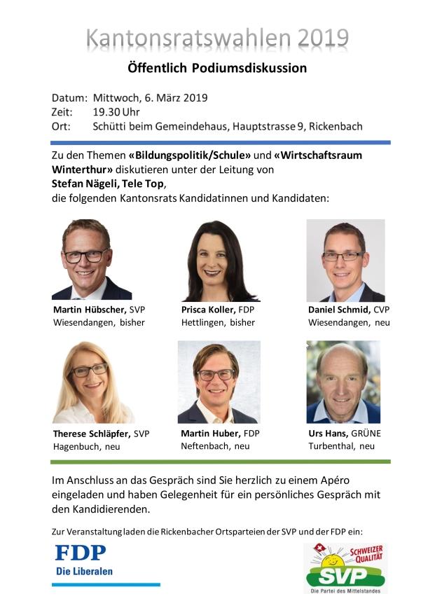 Kantonsratswahlen 2019_Flyer_v2